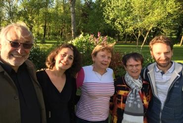 Patrick, Sylvaine, Geneviève, Yvane et Grégory